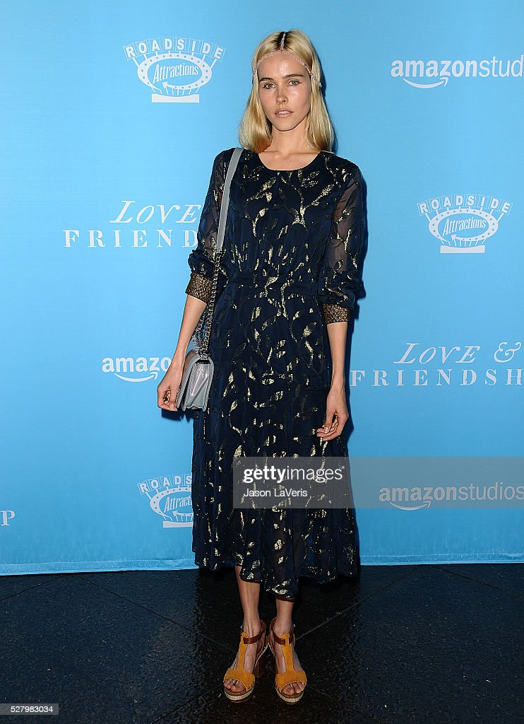 Actress <a gi-track='captionPersonalityLinkClicked' href=/galleries/search?phrase=Isabel+Lucas&family=editorial&specificpeople=242957 ng-click='$event.stopPropagation()'>Isabel Lucas</a> attends the premiere of 'Love and Friendship' at Directors Guild Of America on May 3, 2016 in Los Angeles, California.