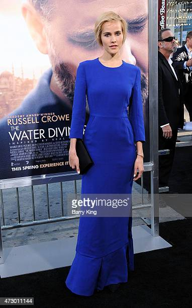 Actress Isabel Lucas attends the premiere of 'The Water Diviner' at TCL Chinese Theatre IMAX on April 16 2015 in Hollywood California
