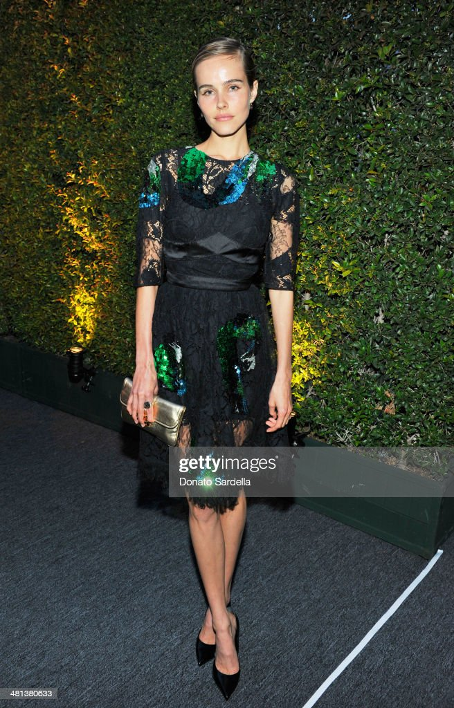 Actress <a gi-track='captionPersonalityLinkClicked' href=/galleries/search?phrase=Isabel+Lucas&family=editorial&specificpeople=242957 ng-click='$event.stopPropagation()'>Isabel Lucas</a>, wearing Louis Vuitton, attends MOCA's 35th Anniversary Gala presented by Louis Vuitton at The Geffen Contemporary at MOCA on March 29, 2014 in Los Angeles, California.