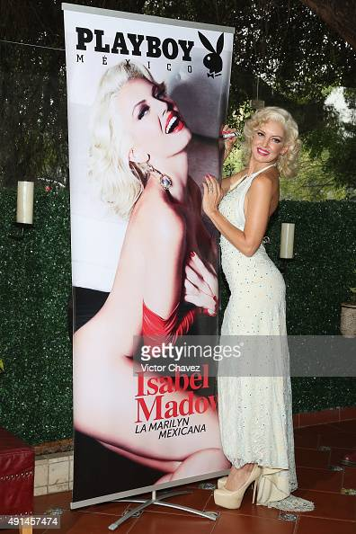 Actress Isabel Madow attends the Playboy Mexico magazine october 2015 ...