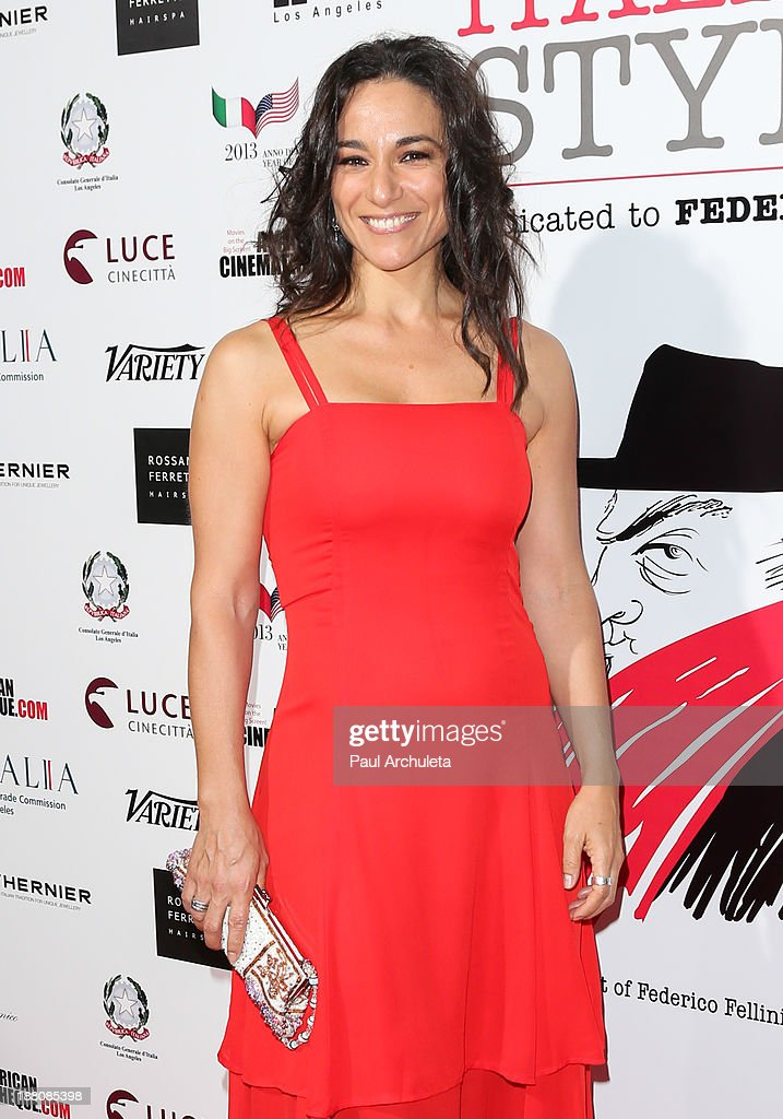 Actress Isabel Serrano attends the premiere of 'The Great Beauty' at the Cinema Italian Style 2013 Opening Night at the Egyptian Theatre on November 14, 2013 in Hollywood, California.