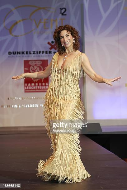 Actress Isabel Varell at The Event Prominent fashion show at the Grand Elysée in Hamburg