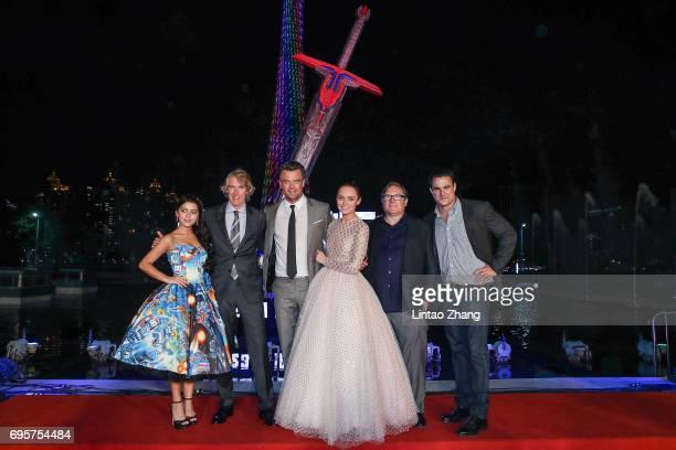 Actress Isabela Moner Director and Executive Producer Michael Bay Actor Josh Duhamel Actress Laura Haddock Producer Lorenzo di Bonaventura Executive...
