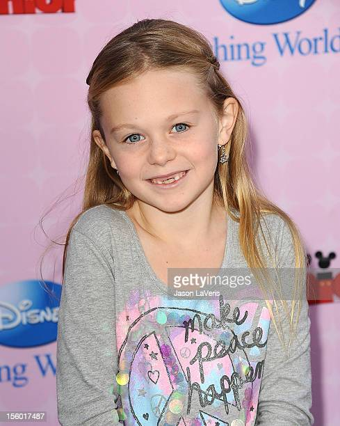 Actress Isabella Cramp attends the premiere of 'Sofia The First Once Upon a Princess' at Walt Disney Studios on November 10 2012 in Burbank California