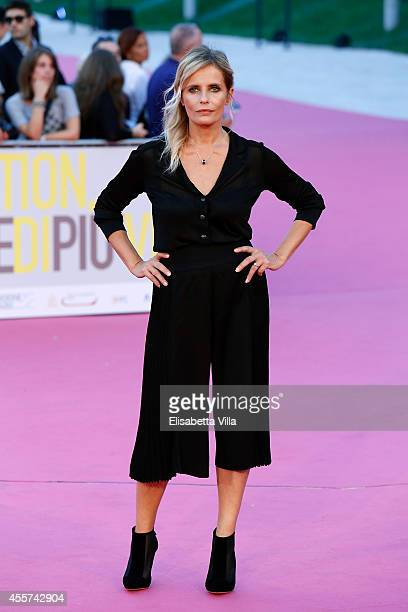 Actress Isabella Ferrari attends Roma Fiction Fest 2014 Closing Ceremony Pink Carpet at Auditorium Parco Della Musica on September 19 2014 in Rome...