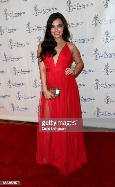 Actress Isabella Gomez attends the 32nd Annual Imagen Awards at the Beverly Wilshire Four Seasons Hotel on August 18 2017 in Beverly Hills California