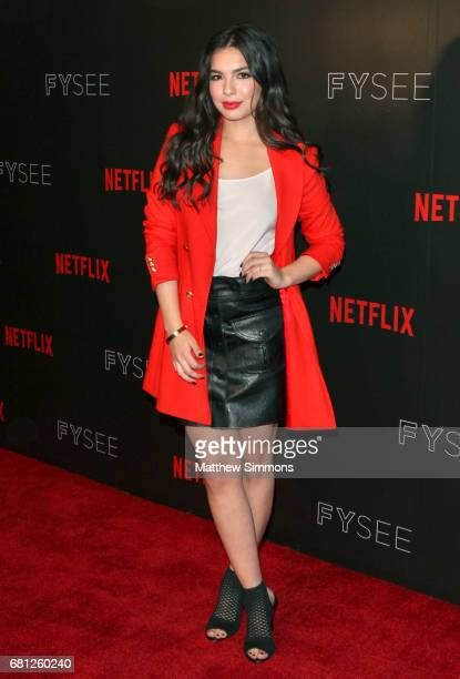 Actress Isabella Gomez attends The Women Of Netflix's 'One Day At A Time' For Your Consideration Event at Netflix FYSee Space on May 9 2017 in...