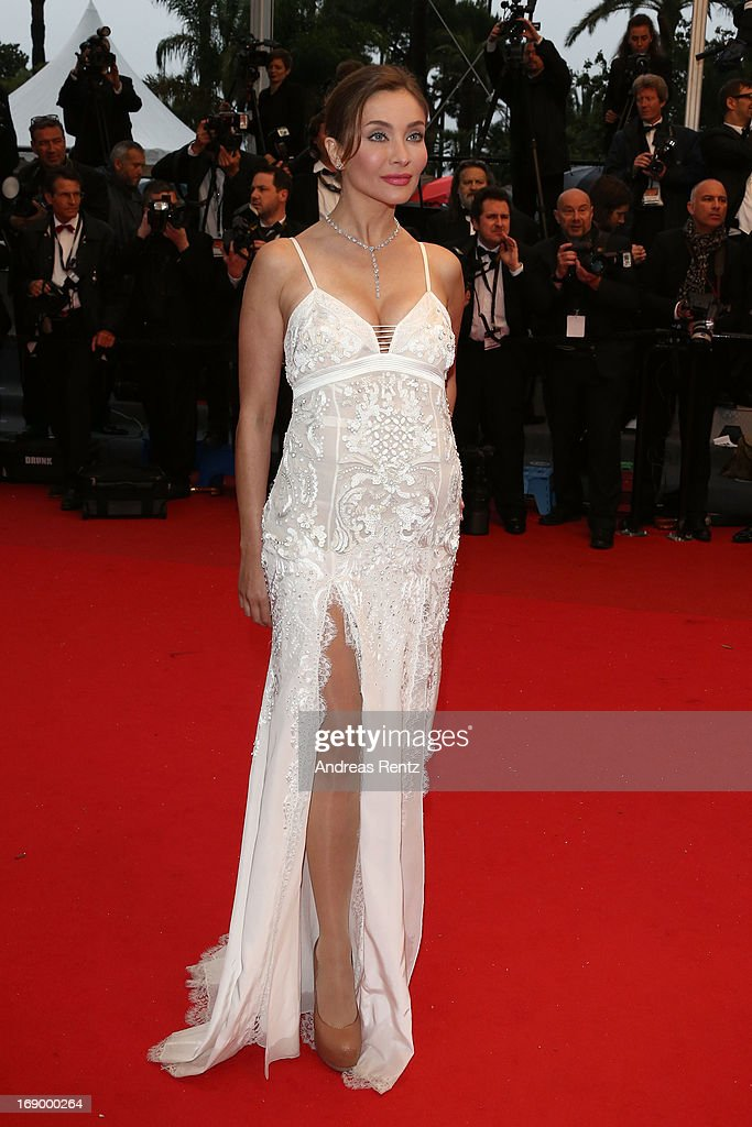 Actress Isabella Orsini attends the 'Jimmy P. (Psychotherapy Of A Plains Indian)' Premiere during the 66th Annual Cannes Film Festival at the Palais des Festivals on May 18, 2013 in Cannes, France.