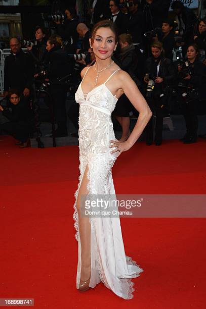 Actress Isabella Orsini attends the Premiere of 'Jimmy P ' at Palais des Festivals during The 66th Annual Cannes Film Festival on May 18 2013 in...