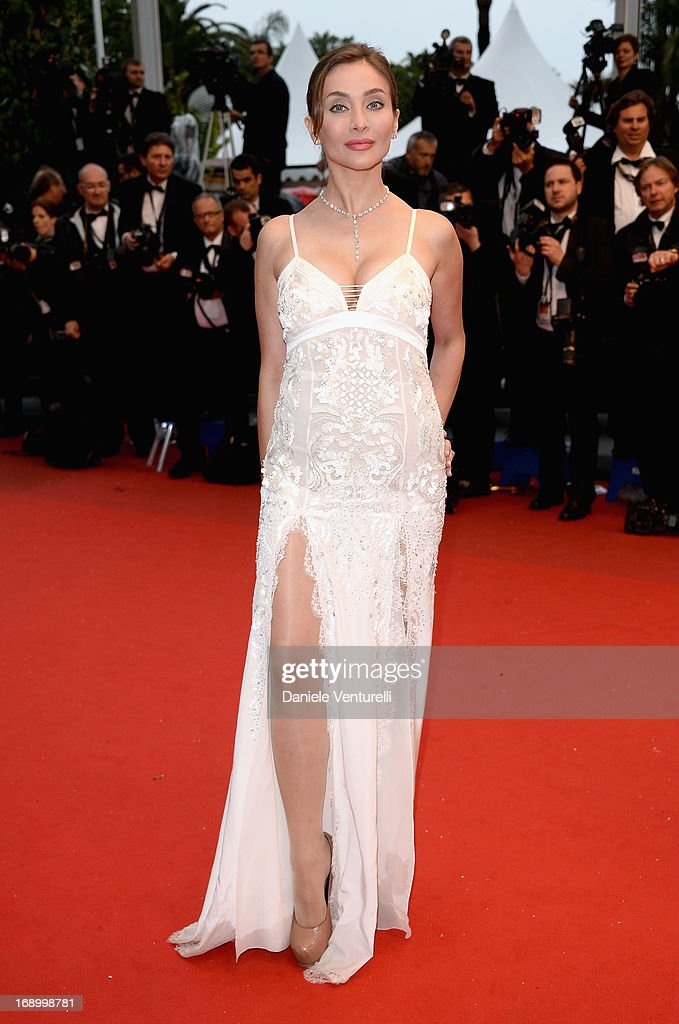 Actress Isabella Orsini attends the Premiere of 'Jimmy P. (Psychotherapy Of A Plains Indian)' at Palais des Festivals during The 66th Annual Cannes Film Festival on May 18, 2013 in Cannes, France.