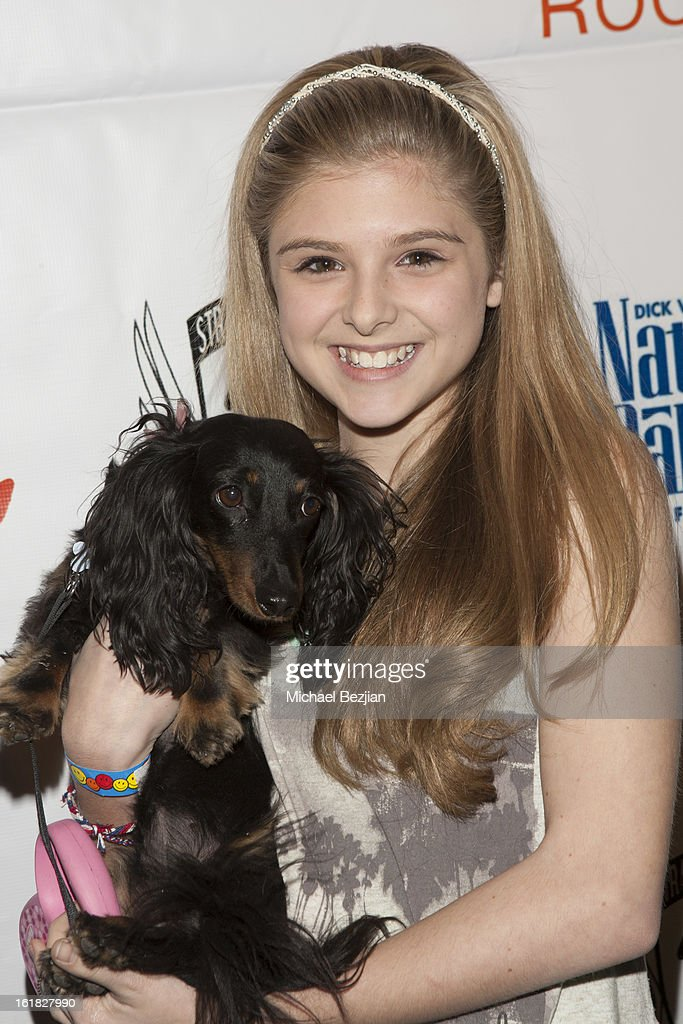 Actress Isabella Palmieri attends Hooray for Hollywoof! Grand Opening and Launch Party for Zoom Room at Zoom Room on February 16, 2013 in Sherman Oaks, California.
