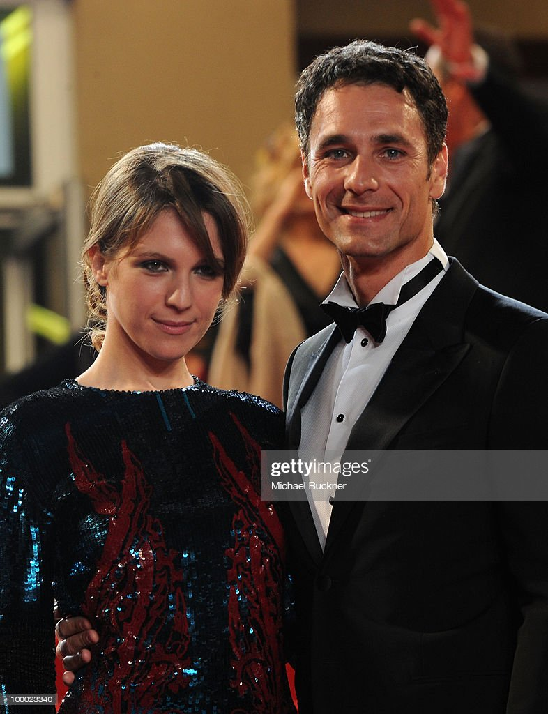 Actress Isabella Ragonese and Raoul Bova attend the 'Our Life' Premiere at the Palais des Festivals during the 63rd Annual Cannes Film Festival on May 20, 2010 in Cannes, France.