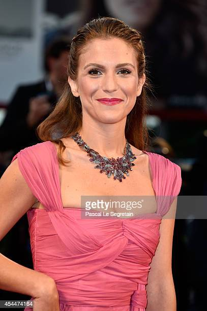 Actress Isabella Ragonese attends the 'Il Giovane Favoloso' Premiere during the 71st Venice Film Festival on September 1 2014 in Venice Italy