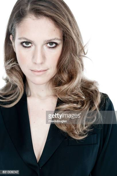 Actress Isabella Ragonese is photographed for GIOA on November 24 2011 in Rome Italy
