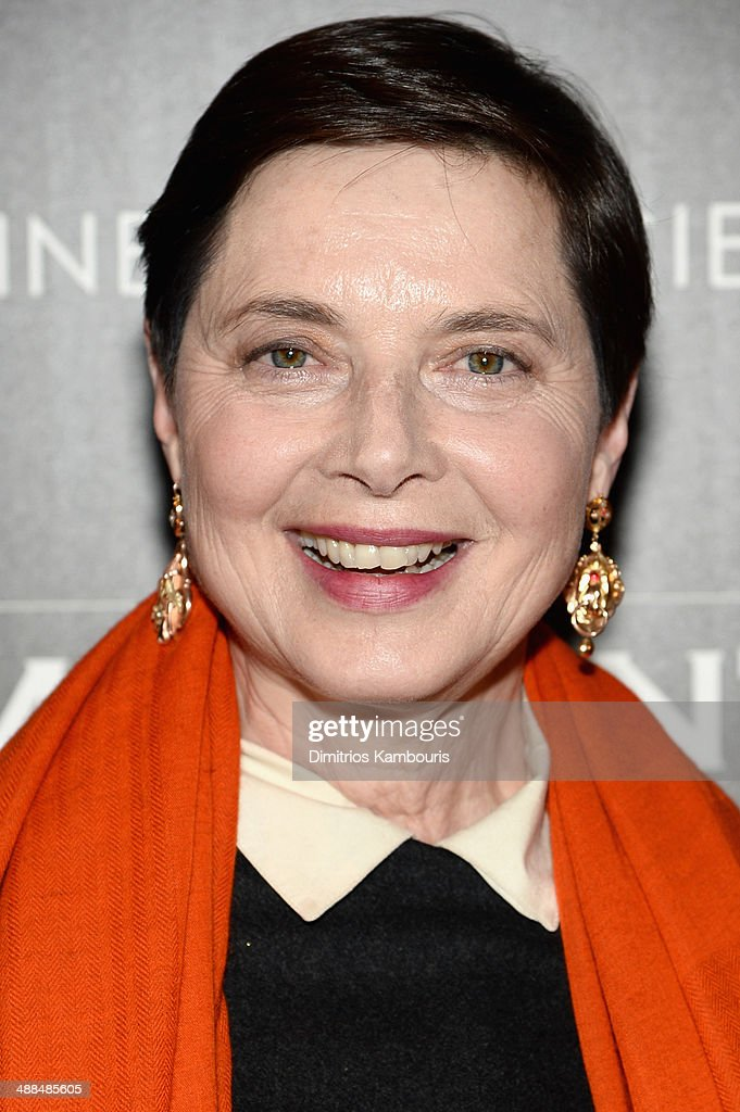 Actress <a gi-track='captionPersonalityLinkClicked' href=/galleries/search?phrase=Isabella+Rossellini&family=editorial&specificpeople=209153 ng-click='$event.stopPropagation()'>Isabella Rossellini</a> attends the Dior & Vanity Fair with The Cinema Society premiere of The Weinstein Company's 'The Immigrant' at The Paley Center for Media on May 6, 2014 in New York City.