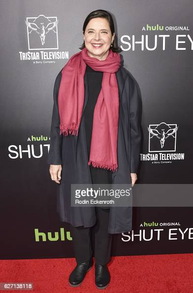 Actress Isabella Rossellini attends the premiere of Hulu's 'Shut Eye' at ArcLight Hollywood on December 1 2016 in Hollywood California