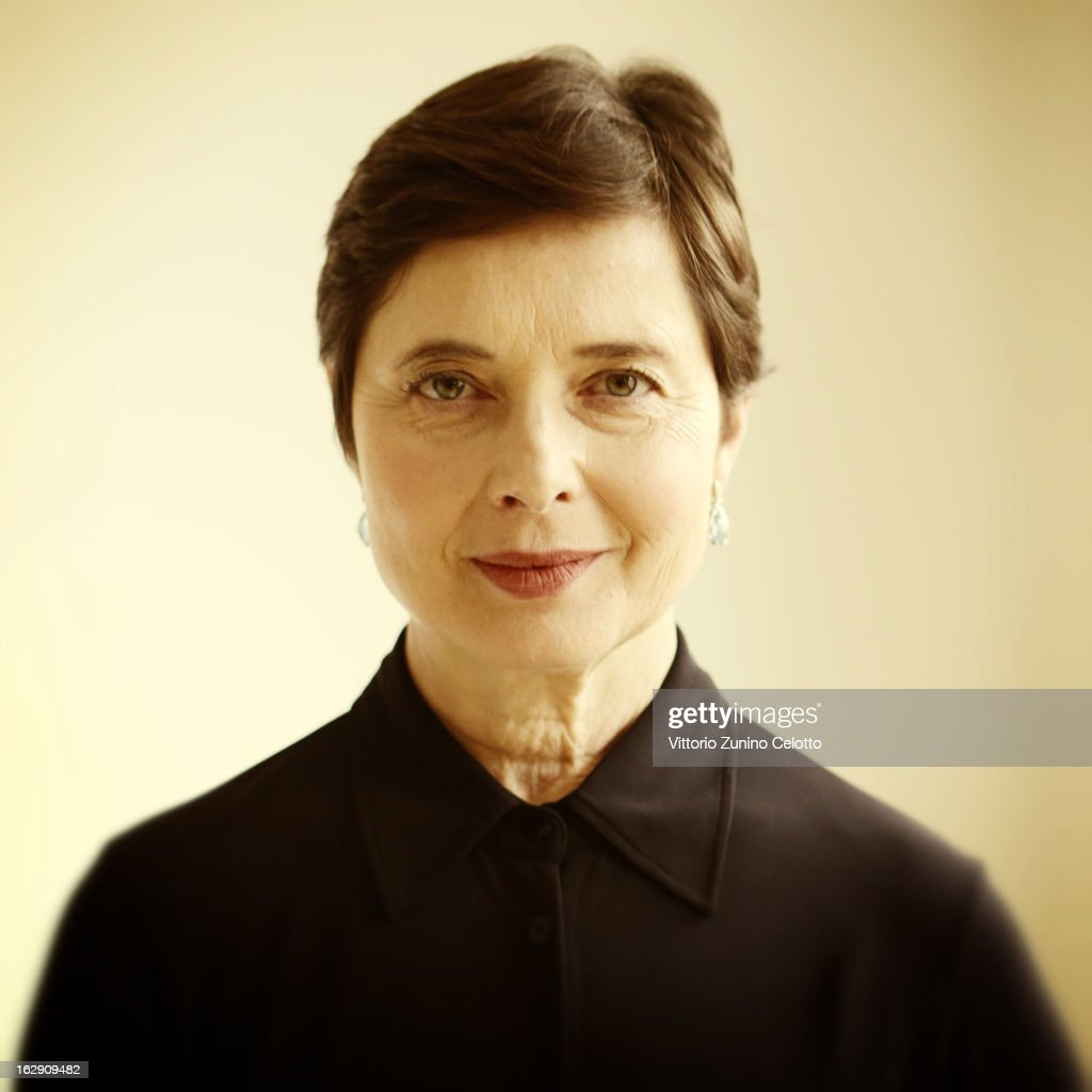 Actress <a gi-track='captionPersonalityLinkClicked' href=/galleries/search?phrase=Isabella+Rossellini&family=editorial&specificpeople=209153 ng-click='$event.stopPropagation()'>Isabella Rossellini</a> is photographed for Self Assignment on February 8, 2013 in Berlin, Germany.