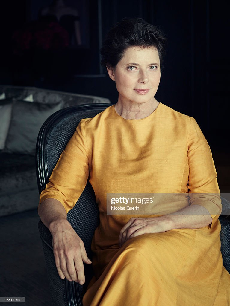 Actress <a gi-track='captionPersonalityLinkClicked' href=/galleries/search?phrase=Isabella+Rossellini&family=editorial&specificpeople=209153 ng-click='$event.stopPropagation()'>Isabella Rossellini</a> is photographed for Self Assignment on May 15, 2015 in Cannes, France.