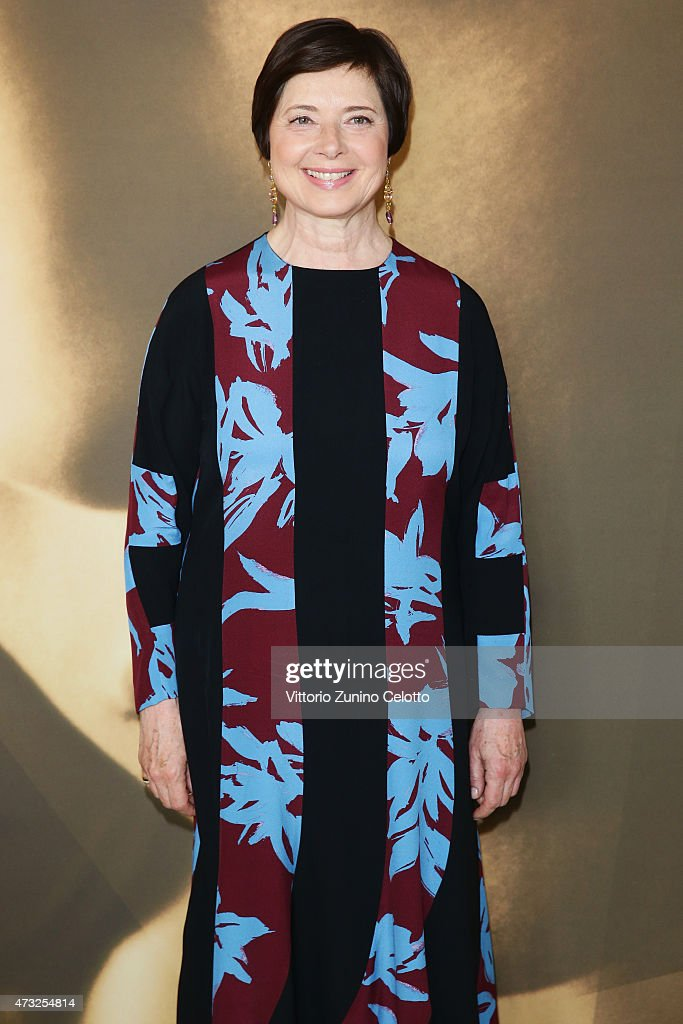 Actress <a gi-track='captionPersonalityLinkClicked' href=/galleries/search?phrase=Isabella+Rossellini&family=editorial&specificpeople=209153 ng-click='$event.stopPropagation()'>Isabella Rossellini</a> participates in the Kering Talks 'Women In Motion' At the Kering Suite during The 68th Annual Cannes Film Festival on May 14, 2015 in Cannes, France.