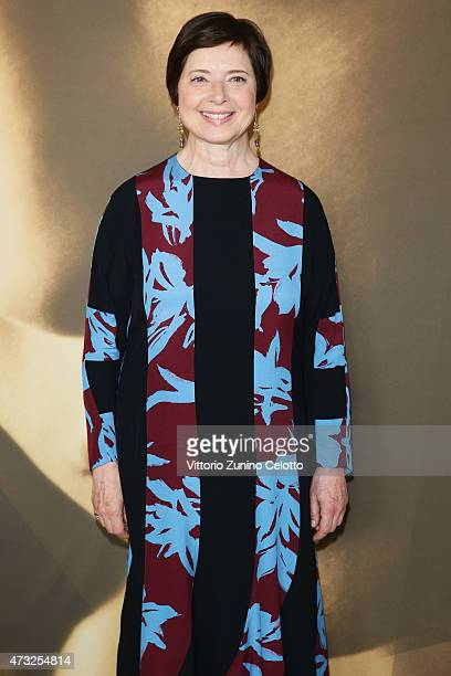 Actress Isabella Rossellini participates in the Kering Talks 'Women In Motion' At the Kering Suite during The 68th Annual Cannes Film Festival on May...