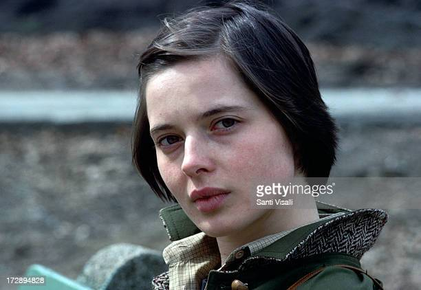 Actress Isabella Rossellini posing for a portrait on March 101980 in New York New York