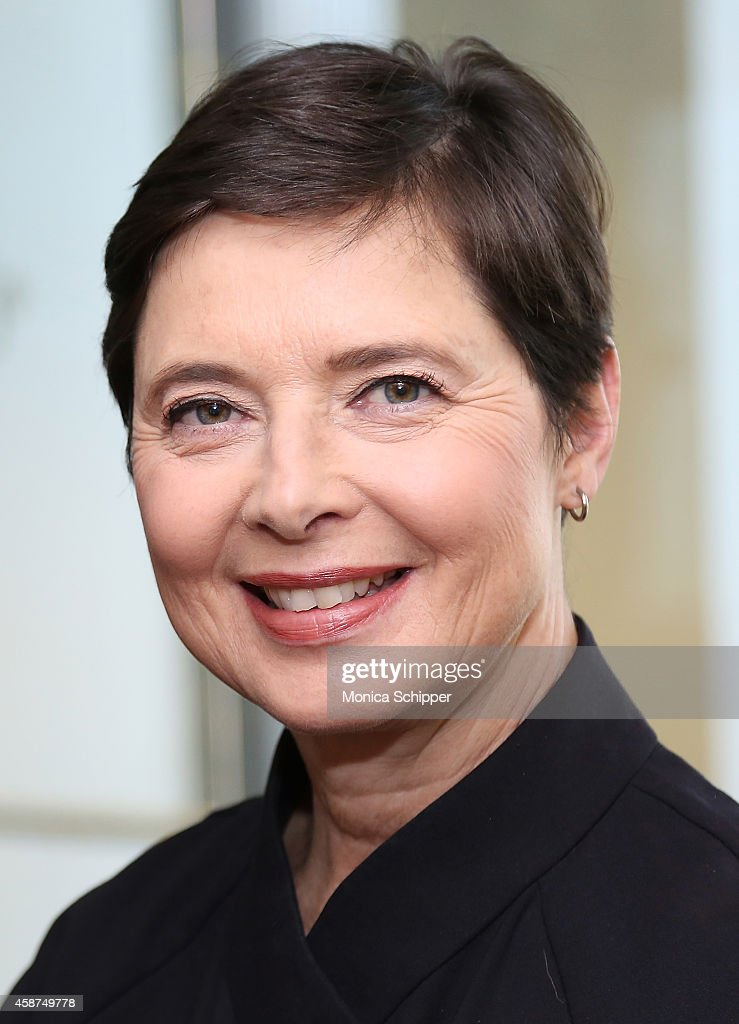 Actress <a gi-track='captionPersonalityLinkClicked' href=/galleries/search?phrase=Isabella+Rossellini&family=editorial&specificpeople=209153 ng-click='$event.stopPropagation()'>Isabella Rossellini</a> visits SiriusXM Studios on November 10, 2014 in New York City.