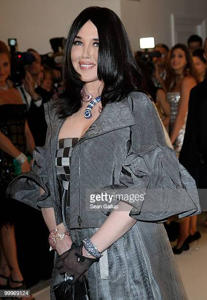 Actress Isabelle Adjani attends the de Grisogono party at the Hotel Du Cap on May 18 2010 in Cap D'Antibes France