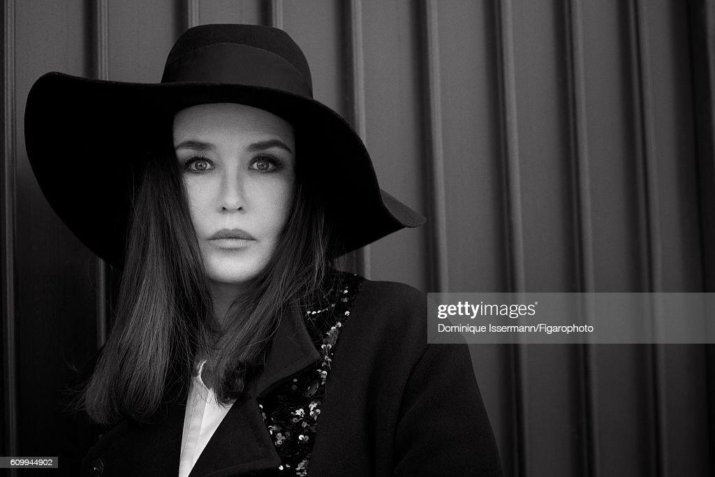 Isabelle Adjani and Gabriel-Kane Day-Lewis, Madame Figaro, September 2, 2016