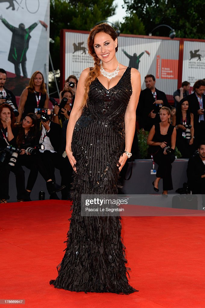 Actress Isabelle Adriani attends the 'Joe' Premiere during The 70th Venice International Film Festival at Palazzo Del Cinema on August 30, 2013 in Venice, Italy.