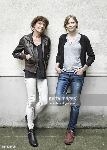 Actress Isabelle Carre and writer Catherine Poulain are photographed for Madame Figaro on June 6 2016 in Paris France PUBLISHED IMAGE CREDIT MUST...