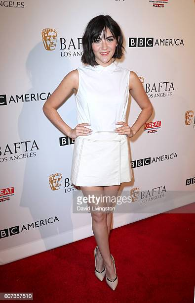 Actress Isabelle Fuhrman arrives at BAFTA Los Angeles BBC America TV Tea Party at The London Hotel on September 17 2016 in West Hollywood California