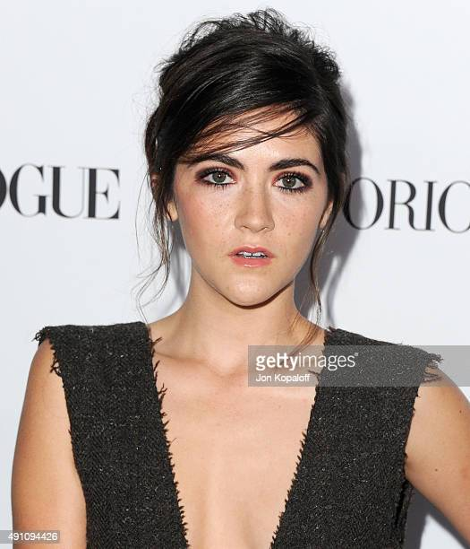 Actress Isabelle Fuhrman arrives at Teen Vogue's 13th Annual Young Hollywood Issue Launch Party on October 2 2015 in Los Angeles California