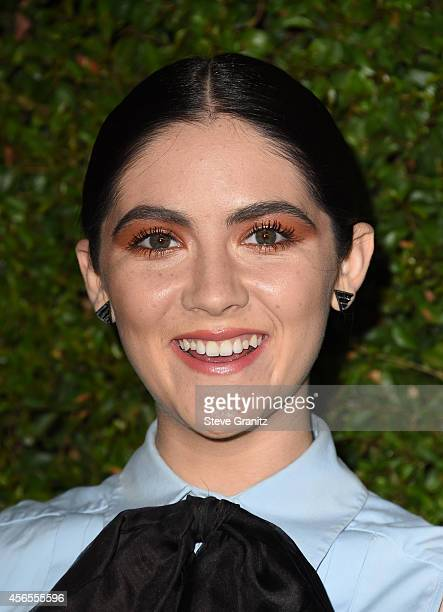 Actress Isabelle Fuhrman attends Claiborne Swanson Frank's Young Hollywood book launch hosted by Michael Kors at Private Residence on October 2 2014...