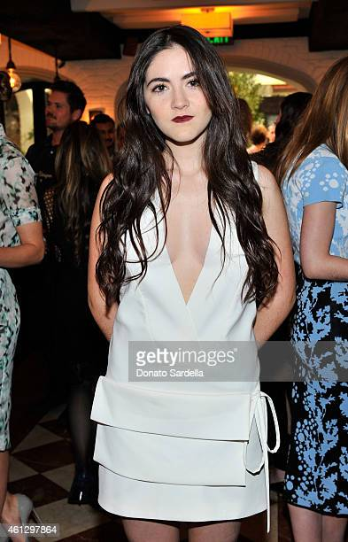 Actress Isabelle Fuhrman attends Lynn Hirschberg Celebrates W's It Girls with Piaget and Dom Perignon at AOC on January 10 2015 in Los Angeles...