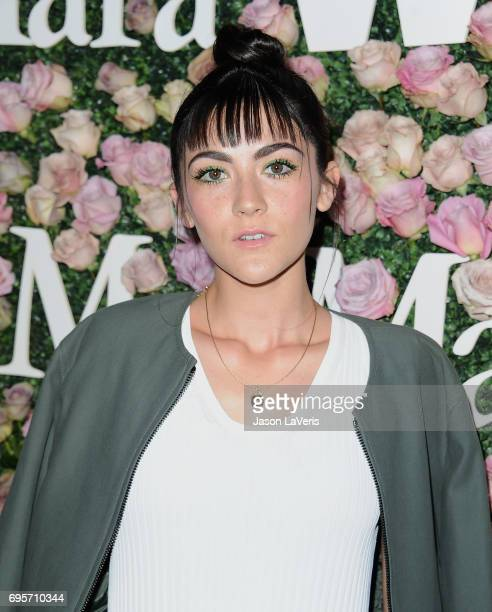 Actress Isabelle Fuhrman attends Max Mara and Vanity Fair's celebration of Women In Film's Face of the Future Award recipient Zoey Deutch at Chateau...
