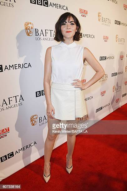 Actress Isabelle Fuhrman attends the BBC America BAFTA Los Angeles TV Tea Party 2016 at The London Hotel on September 17 2016 in West Hollywood...