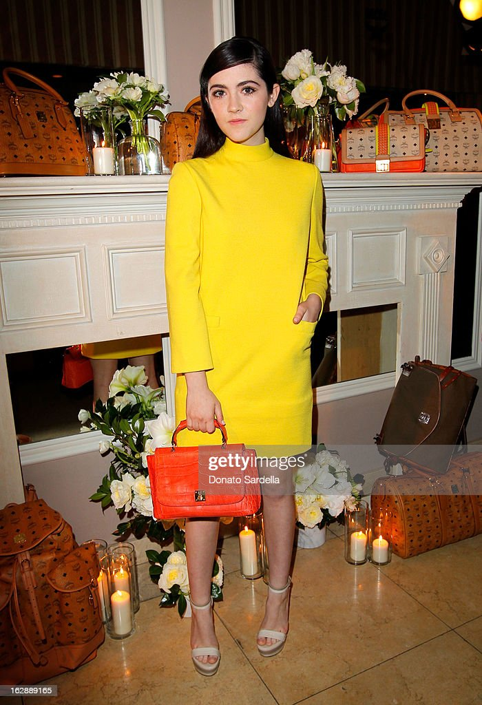 Actress Isabelle Fuhrman attends the Dukes Of Melrose launch hosted by Decades, Harper's BAZAAR, and MCM on February 28, 2013 in Los Angeles, California.