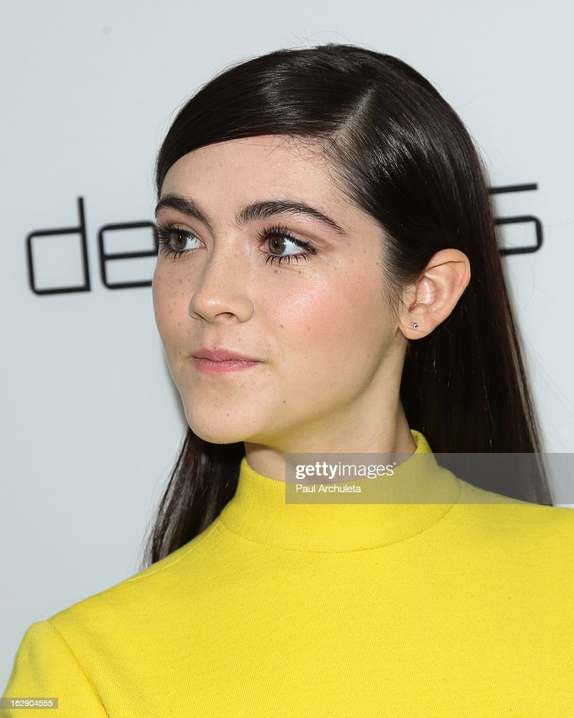 Actress Isabelle Fuhrman attends the Harper's BAZAAR celebration for the new Bravo series 'Dukes of Melrose' at The Terrace at Sunset Tower on February 28, 2013 in West Hollywood, California.