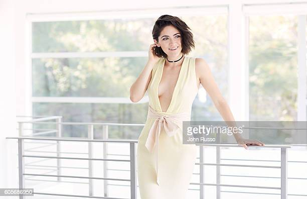 Actress Isabelle Fuhrman is photographed for Self Assignment on July 18 2016 in Los Angeles California
