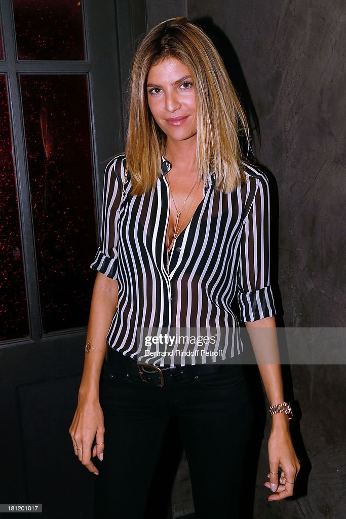 Actress Isabelle Funaro attends 'A.Club Party' at Castel on September 19, 2013 in Paris, France.