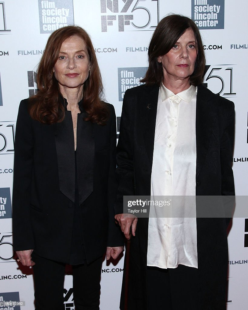 Actress <a gi-track='captionPersonalityLinkClicked' href=/galleries/search?phrase=Isabelle+Huppert&family=editorial&specificpeople=662796 ng-click='$event.stopPropagation()'>Isabelle Huppert</a> and director <a gi-track='captionPersonalityLinkClicked' href=/galleries/search?phrase=Catherine+Breillat&family=editorial&specificpeople=2560606 ng-click='$event.stopPropagation()'>Catherine Breillat</a> attend the 'Abuse Of Weakness' premiere during the 51st New York Film Festival at Alice Tully Hall at Lincoln Center on October 6, 2013 in New York City.