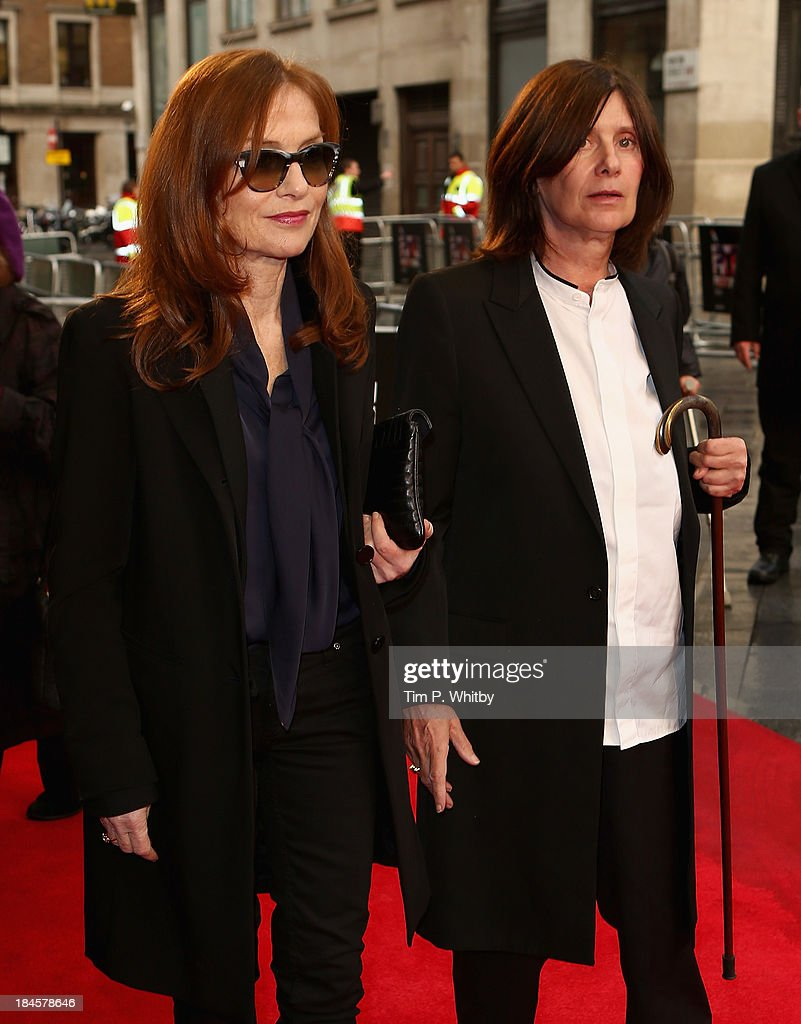 Actress <a gi-track='captionPersonalityLinkClicked' href=/galleries/search?phrase=Isabelle+Huppert&family=editorial&specificpeople=662796 ng-click='$event.stopPropagation()'>Isabelle Huppert</a> and director <a gi-track='captionPersonalityLinkClicked' href=/galleries/search?phrase=Catherine+Breillat&family=editorial&specificpeople=2560606 ng-click='$event.stopPropagation()'>Catherine Breillat</a> attend the 'Abuse Of Weakness' screening during the 57th BFI London Film Festival at the Odeon West End on October 14, 2013 in London, England.