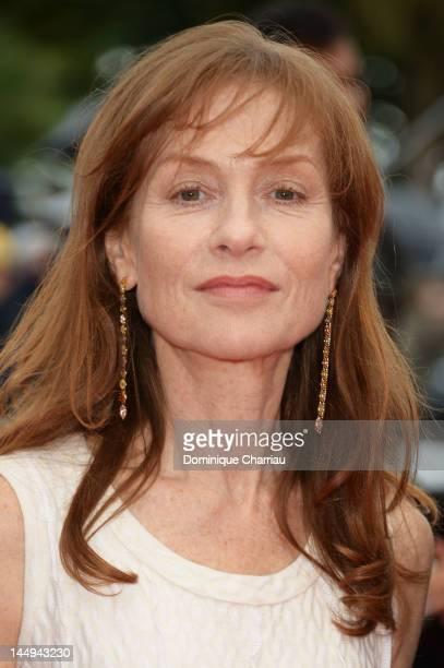 Actress Isabelle Huppert attends 'Dareun Naraesuh' Premiere during the 65th Annual Cannes Film Festival at Palais des Festivals on May 21 2012 in...