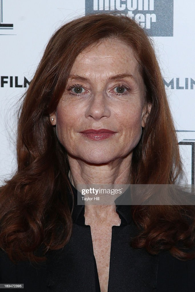 Actress <a gi-track='captionPersonalityLinkClicked' href=/galleries/search?phrase=Isabelle+Huppert&family=editorial&specificpeople=662796 ng-click='$event.stopPropagation()'>Isabelle Huppert</a> attends the 'Abuse Of Weakness' premiere during the 51st New York Film Festival at Alice Tully Hall at Lincoln Center on October 6, 2013 in New York City.