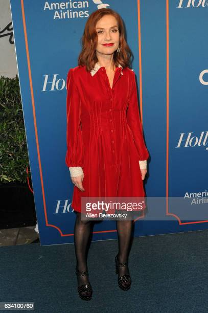 Actress Isabelle Huppert attends The Hollywood Reporter 5th Annual Nominees Night at Spago on February 6 2017 in Beverly Hills California