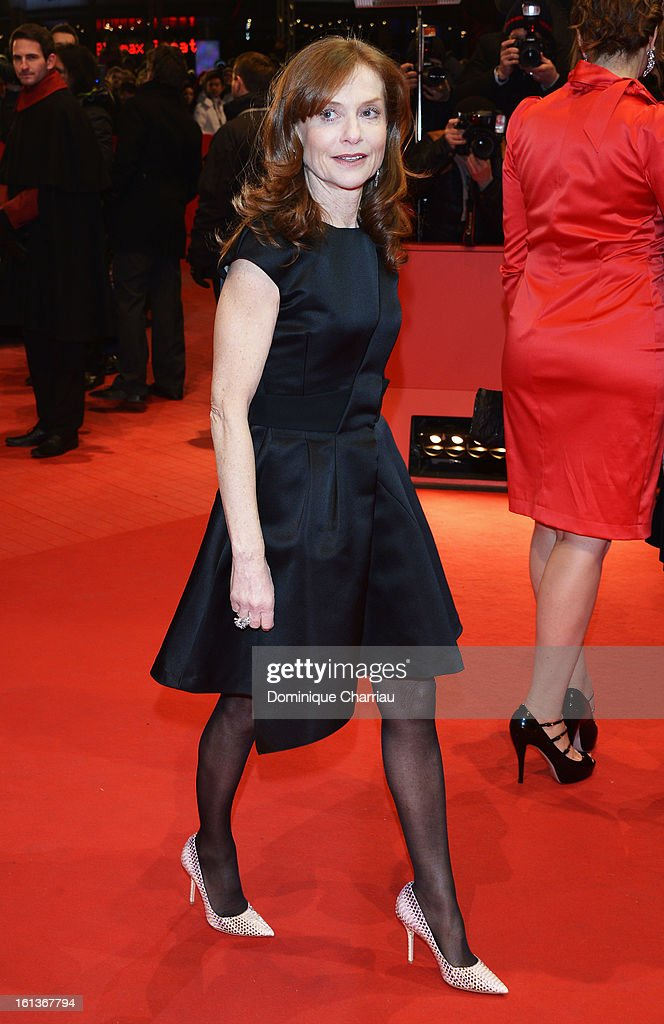 Actress Isabelle Huppert attends 'The Nun' Premiere during the 63rd Berlinale International Film Festival at Berlinale Palast on February 10, 2013 in Berlin, Germany.