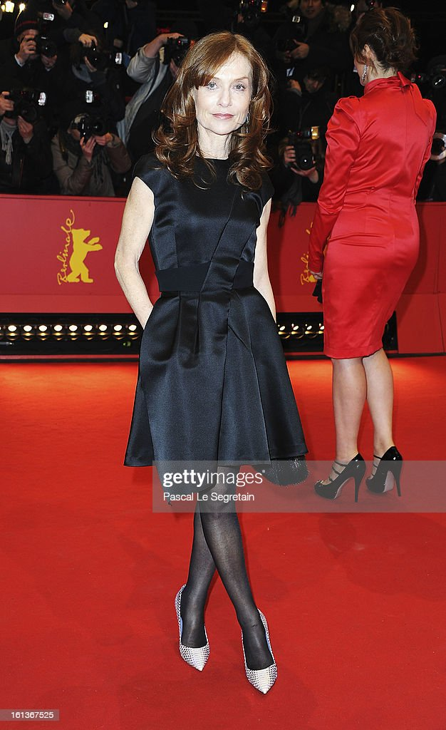 Actress Isabelle Huppert attends the 'The Nun' Premiere during the 63rd Berlinale International Film Festival at Berlinale Palast on February 10, 2013 in Berlin, Germany.