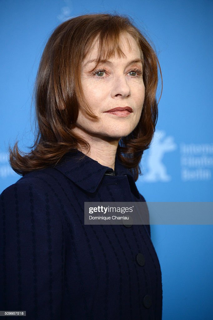 Actress Isabelle Huppert attends the 'Things to Come' (L'avenir) photo call during the 66th Berlinale International Film Festival Berlin at Grand Hyatt Hotel on February 13, 2016 in Berlin, Germany.