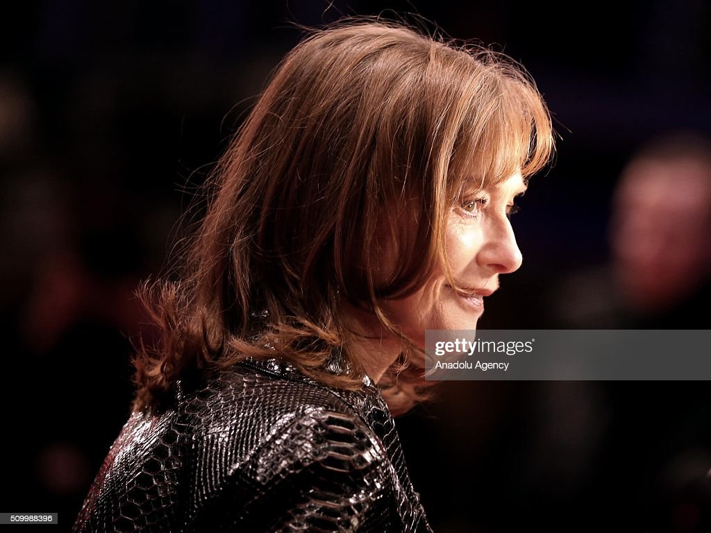 Actress Isabelle Huppert attends the 'Things to Come' (L'avenir) premiere during the 66th Berlinale International Film Festival Berlin at Berlinale Palace on February 13, 2016 in Berlin, Germany.