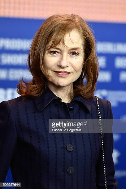 Actress Isabelle Huppert attends the 'Things to Come' press conference during the 66th Berlinale International Film Festival Berlin at Grand Hyatt...